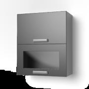 Навесной шкаф 600 горизонтальный комбинированный 6ВК ЛБДП