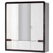 Шкаф для платья и белья 3-дв. Ронда 310