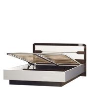 Кровать с мягким изголовьем и подъемным механизмом Ронда 316
