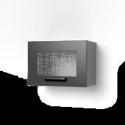 Шкаф верхний со стеклом ШВС 500Х крафт