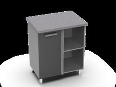 Угловой рабочий стол 1000х600 угол прямой УР2 ЛБДП