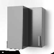 Угловой шкаф под сушку 550х550 угол прямой УСП ЛБДП