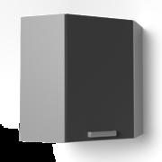 Угловой навесной шкаф 600х600 угол скос УВ2 ЛБДП
